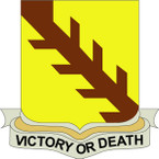 STICKER US ARMY UNIT  32nd Cavalry Regiment