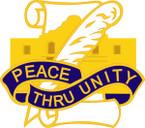 STICKER US ARMY UNIT  321st Civil Affairs Brigade Crest