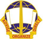 STICKER US ARMY UNIT  308th Civil Affairs Brigade Crest