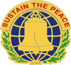 STICKER US ARMY UNIT  304th Civil Affairs Brigade Crest
