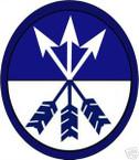 STICKER US ARMY UNIT  23th Corps COL