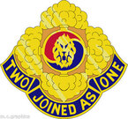 STICKER US ARMY UNIT  23d chemical battalion