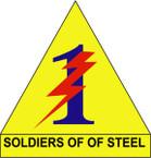STICKER US ARMY UNIT  1st Army Training Brigade