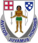 STICKER US ARMY UNIT  182nd Cavalry Regiment