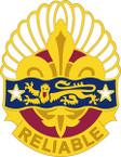STICKER US ARMY UNIT  14th Transportation Battalion