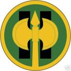 STICKER US ARMY UNIT  11th Military Police Brigade