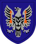 STICKER US ARMY UNIT  11th Aviation Command Shield