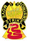 STICKER US ARMY UNIT  116th Cavalry Brigade