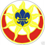STICKER US ARMY UNIT   9th Infantry Division SHIELD