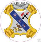 STICKER US ARMY UNIT   8th Infantry Regiment SHIELD