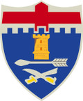 STICKER US ARMY UNIT   1st Infantry Regiment