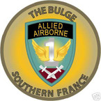 STICKER US ARMY UNIT   1st Allied Airborne Taskforce