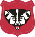 STICKER US ARMY NATIONAL GUARD Wisconsin