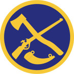 STICKER US ARMY NATIONAL GUARD West Virginia