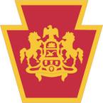 STICKER US ARMY NATIONAL GUARD Pennsylvania