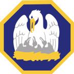 STICKER US ARMY NATIONAL GUARD Louisiana