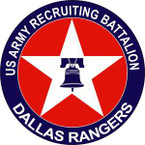 STICKER US ARMY Dallas Recruiting Battalion