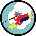 STICKER US ARMY AIR FORCE 385th Fighter Squadron