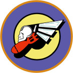 STICKER US ARMY AIR FORCE  366th Bomber Squadron - 305th Bombardment Group - 8th Air Force