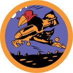 STICKER US ARMY AIR FORCE  351st Bomb Squadron - 100th Bomb Group - 8th Air Force