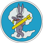 STICKER US ARMY AIR FORCE  324th Bombardment Squadron