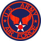 STICKER US ARMY AIR FORCE