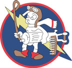 STICKER US ARMY AIR CORPS 487th Fighter Squadron - 352nd Fighter Group