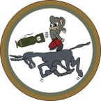 STICKER US ARMY AIR CORPS 464th BG Squadron