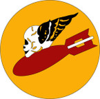 STICKER US ARMY AIR CORPS 386thBombarment - Group 552ND Bombarment Squadron