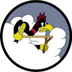 STICKER US ARMY AIR CORPS 359th Fighter Squadron - 356th Fighter Group