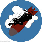 STICKER US ARMY AIR CORPS  568th Bomb Squadron