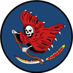 STICKER US ARMY AIR CORPS  423rd Bomb Squardon