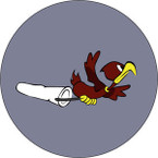 STICKER US ARMY AIR CORPS  12th Tow Target Squadron I