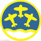 STICKER US ARMY AIR CORPS  12th Reconnaissance Squadron