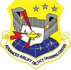 STICKER USAF Advanced Airlift Tactics Training Center