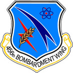STICKER USAF 456th Bombardment Wing