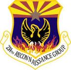 STICKER USAF 214th Reconnaissance Group
