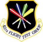 STICKER USAF 413fth Flight Test Group