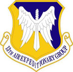 STICKER USAF 13th Air Expeditionary Group