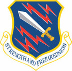 STICKER USAF 21st Space Wing