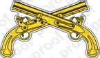 STICKER U.S. Army Military Police Corps Branch Insignia