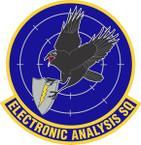 STICKER USAF Electronic Analysis Squadron Emblem