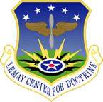 STICKER USAF Curtis E. LeMay Center for Doctrine Development and Education Emblem