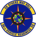 STICKER USAF 86th Vehicle Readiness Squadron Emblem