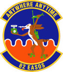 STICKER USAF 82nd Expeditionary Air Support Operations Squadron Emblem