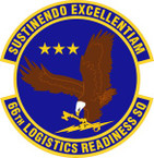 STICKER USAF 66th Logistics Readiness Squadron Emblem