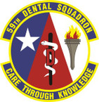 STICKER USAF 59th Dental Squadron Emblem