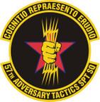 STICKER USAF 57th Adversary Tactics Support Squadron Emblem