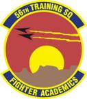 STICKER USAF 56th Training Squadron Emblem
