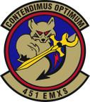 STICKER USAF 451st Expeditionary Maintenance Squadron Emblem
